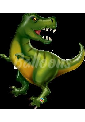 """Фольгированный шар Тиранозавр QL (42"""") 88452"""