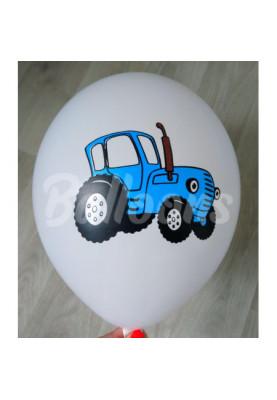 """GD110(#080) Синий трактор 12""""30см"""