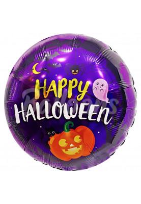 """Happy Halloween круг FM (18""""46см) 401616"""