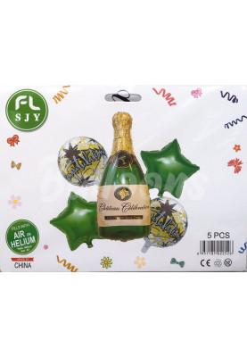 Набор Зелённое Шампанское Китай