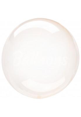 """Bubbles S40 Прозрачно-оранжевый Anagram 16""""41см"""