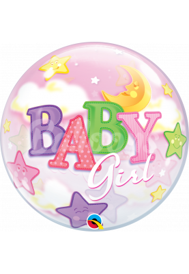 "BABY GIRL Bubbles QL (22""56см) #23598"