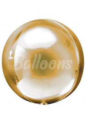 """Сфера фольгированная золотая Anagram 16""""41см"""