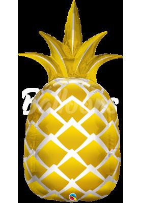 """Фольгированный шар ананас QL (44"""") 57359"""