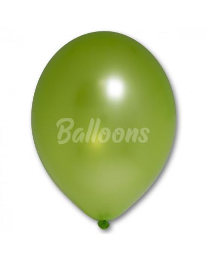 """B105 (078)зелённое яблоко металик(12""""30см)"""