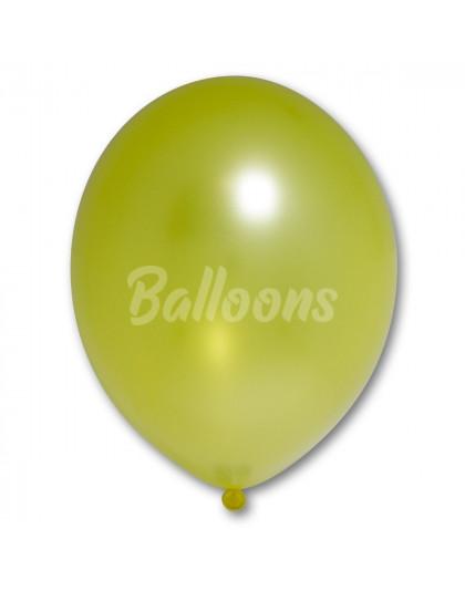 "B85 (082)лимонный металик(10.5""27см)"