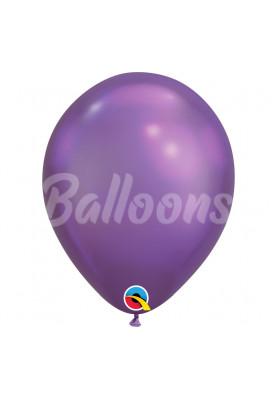 """Хром Purple фиолетовый Qualatex 11""""28см"""