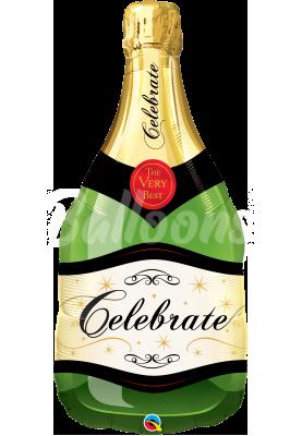 """Фольгированный шар шампанское QL (39""""99см) 26376"""