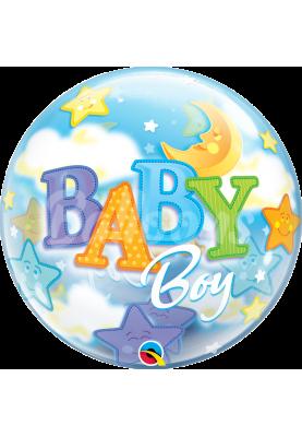 "BABY BOY Bubbles QL (22""56см) #23597"