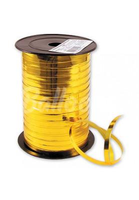 Лента металик золотая