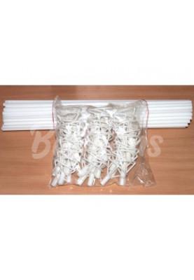Палочки Большие Белые (50шт)