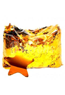 Конфетти звезда золото (1уп=0.5kg)