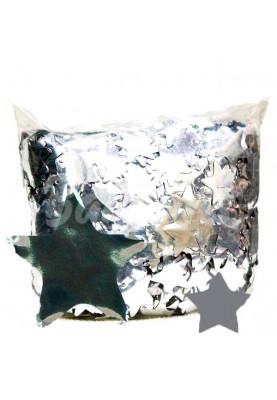 Конфетти звезда серебро (1уп=0.5kg)