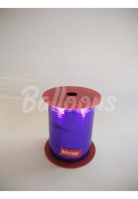 Лента металик фиолетовая