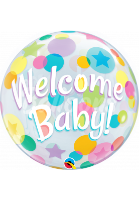 """WELCOME BABY Bubbles QL (22""""56см) #25898"""