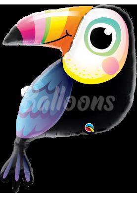 """Фольгированный шар Попугай QL (41""""104см) 78559"""